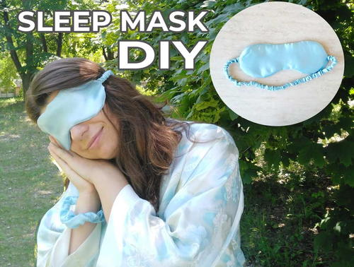 Diy Sleep Mask For Stylish Sleep