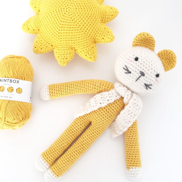 Cute Crochet Cat