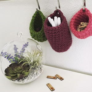 A Trio of Tiny Baskets