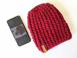 Ribbed Bubble Hat