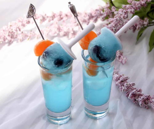 Double Blue Shooters & Blueberry Minisicle