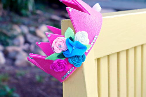 Fairy Crown With Template
