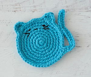Two crocheted cat coasters sets new in the shop today: neutrals ...   253x300