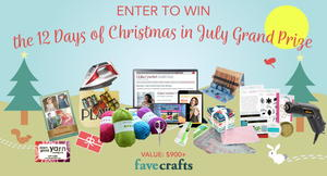 12 Days of Christmas in July Sleigh of Prizes Giveaway!