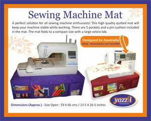 Sewing Machine Mat Giveaway
