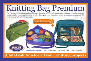 Premium Knitting Bag Giveaway