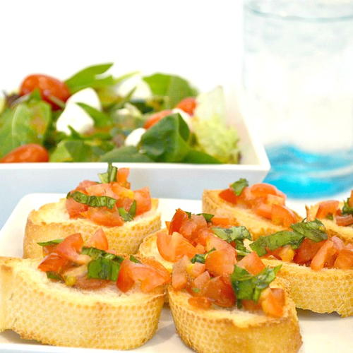 Fresh And Easy Bruschetta Recipe