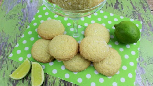 Margarita Lime Tequila Cookies
