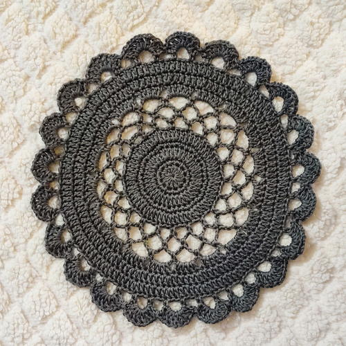 Lacy Crochet Doily Tablemat
