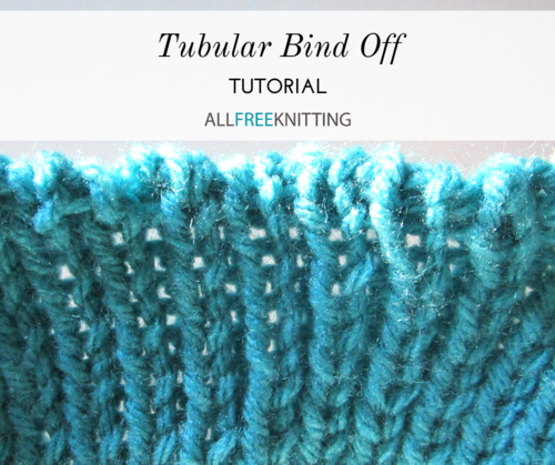 Tubular Bind Off Tutorial