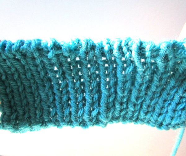 Tubular Bind Off Tutorial Completed