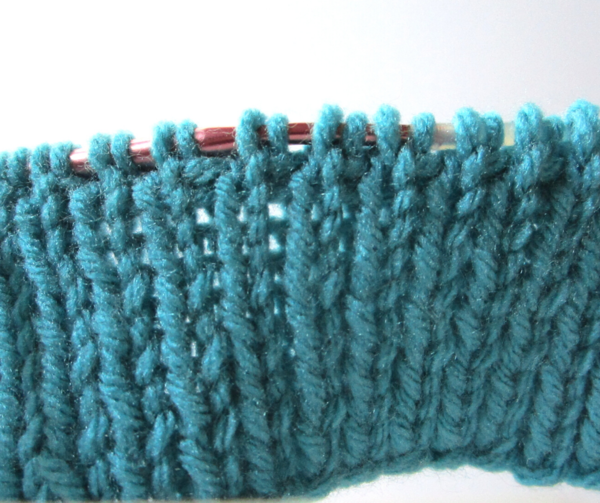 Tubular Bind Off Tutorial Step 3