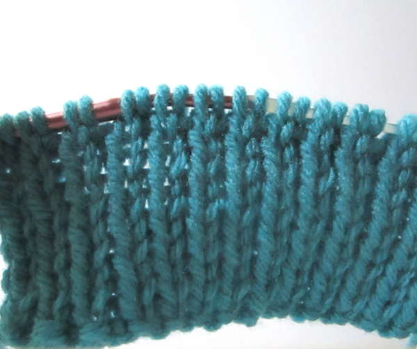 Tubular Bind Off Tutorial Step 2