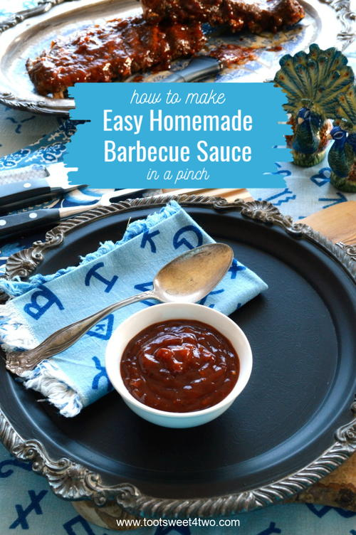 How To Make Easy Homemade Barbecue Sauce In A Pinch