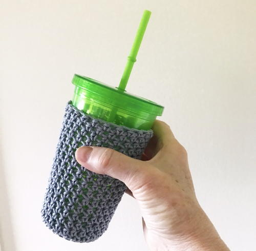Iced Coffee Cup Cozy