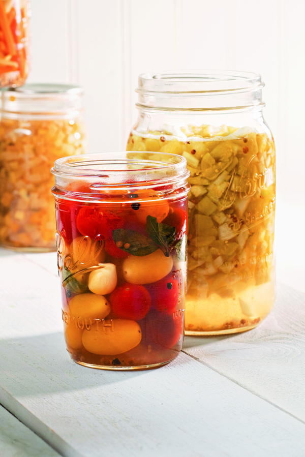 Fermented Green Tomato Relish
