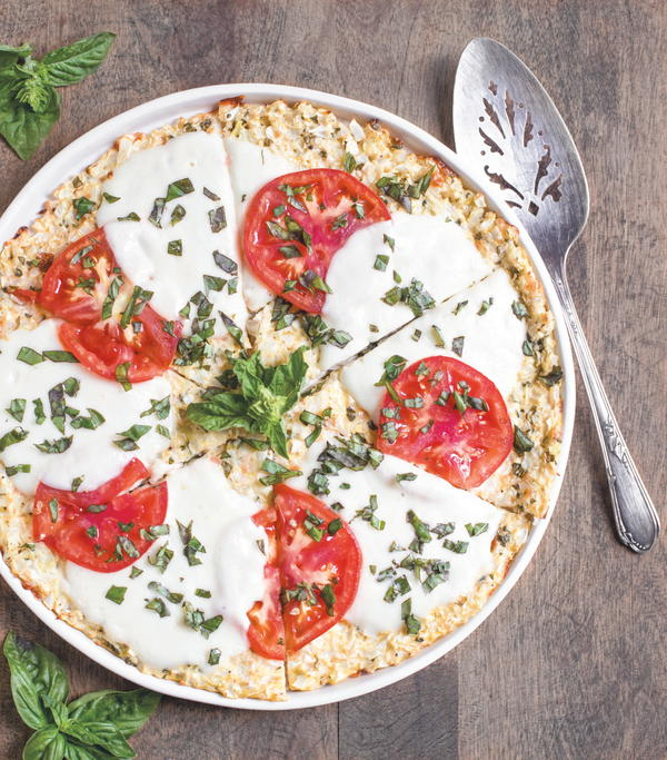 Cauliflower-Crust Caprese