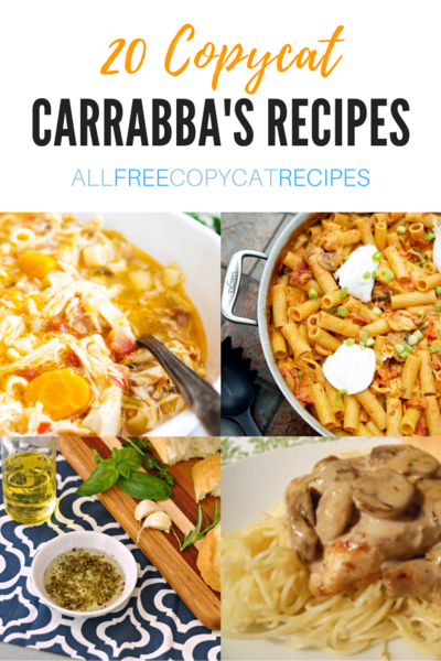20 Copycat Carrabbas Recipes