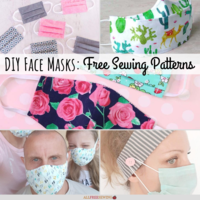 20+ Patterns for Face Masks