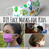 12 DIY Face Masks for Kids