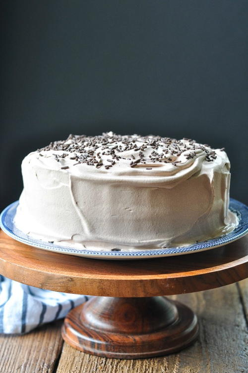 Easy Chocolate Cake With Cream Filling