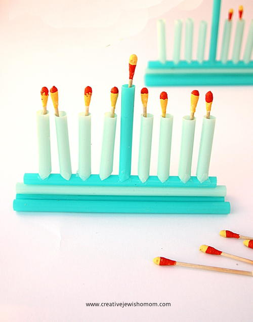 DIY Menorah Craft