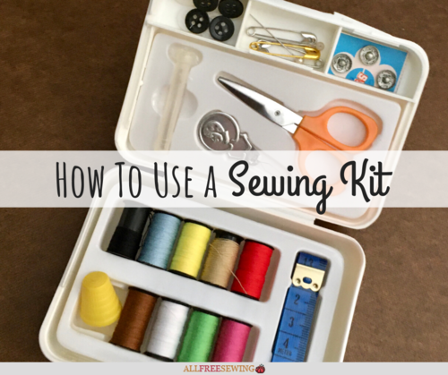 How to Use a Sewing Kit