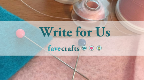Write for FaveCrafts