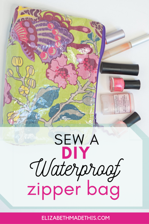 Sew A Waterproof Zipper Bag