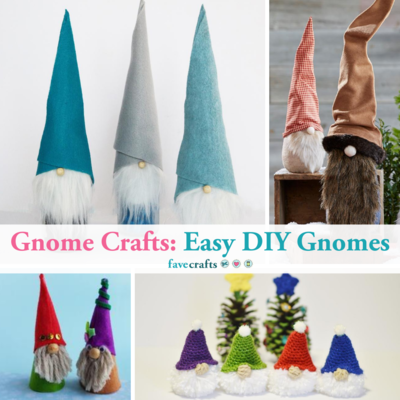 Gnome Crafts 46 Easy DIY Gnomes