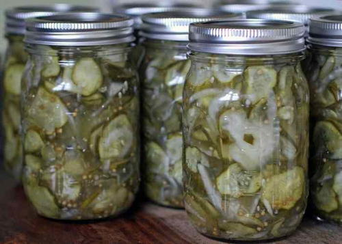 Old Fashioned Bread And Butter Pickles Canning Recipe