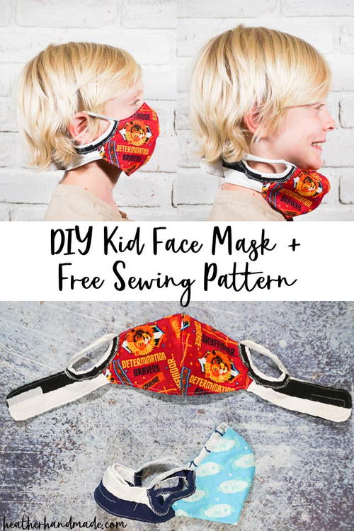 Face Mask Sewing Pattern With Neck Band
