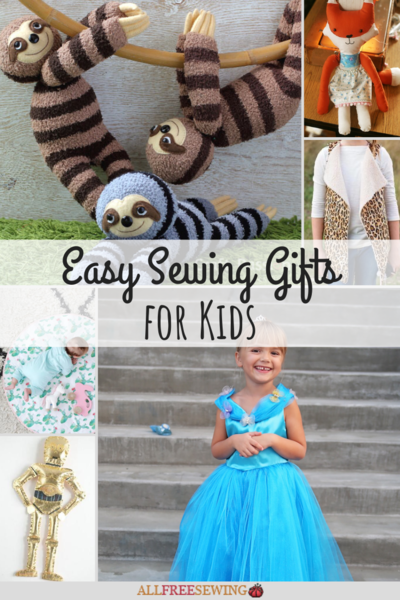 60 Easy Sewing Gifts for Kids