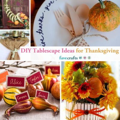 DIY Tablescape Ideas for Thanksgiving