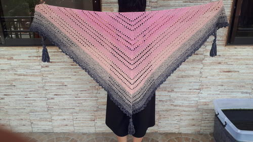 Mac Cannie Triangle Shawl