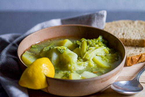 3-ingredient Savoy Cabbage Stew