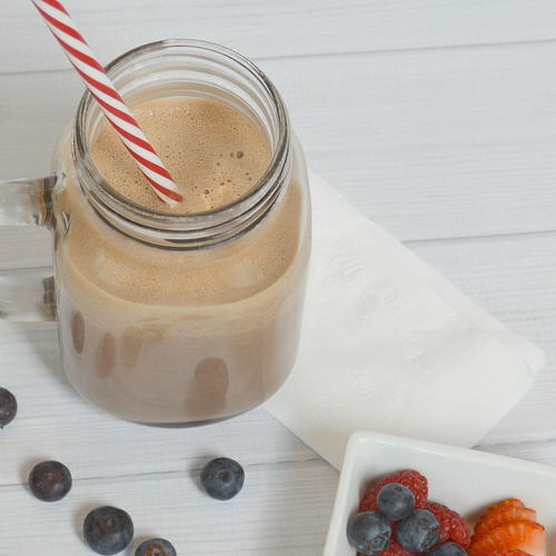 Chocolate Plus Breakfast Smoothie