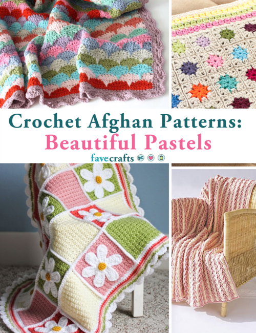 Free Crochet Afghan Patterns in Pastel Colors That Will Surprise You