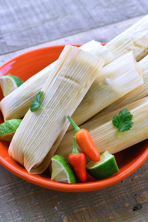 Chicken Green Chile Tamales Recipe