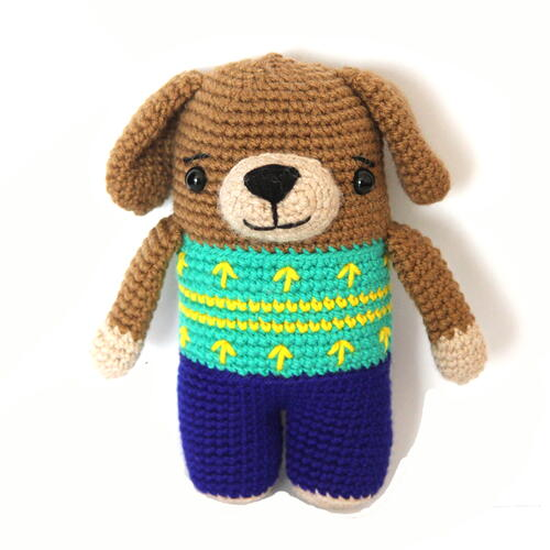 Dash The Crochet Dog