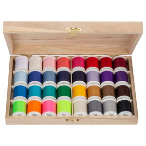 Coats & Clark 32 Spool Thread Assortment Giveaway