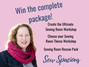Create Your Ultimate Sewing Room Workshop Giveaway
