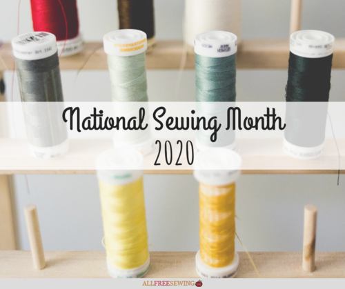 National Sewing Month 2020
