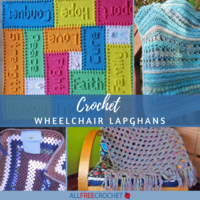 12 Crochet Wheelchair Lapghans