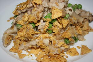 Retro Tuna and Noodle Casserole in the Slow Cooker