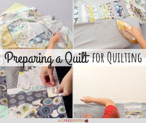 Preparing a Quilt for Longarm Quilting