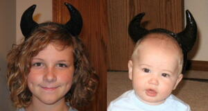 Easy Halloween Horns Tutorial