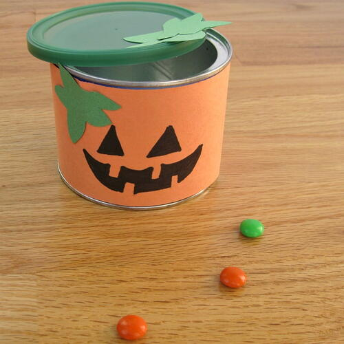 Upcycled Halloween Kids Craft