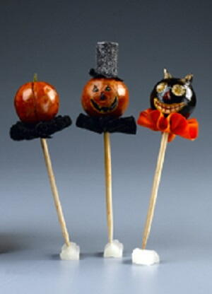 Decorate Your Food with Halloween Picks