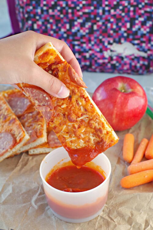 Healthy Pizza Dippers